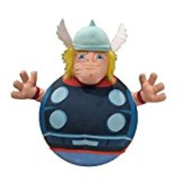 Supergooddeals.com Marvel Super Hero Squad Inflatable Hop and Bounce Playpal (THOR)