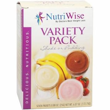 High Protein Diet - Variety Pack Shake or Pudding (7/Box) - NutriWise