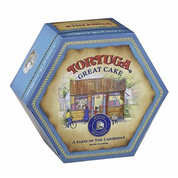 TORTUGA Special Selection Caribbean Great Cake - 23 Ounce - The Perfect Premium Gourmet Gift