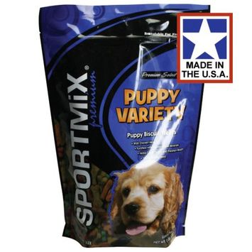 Sportmix - Sportmix Medium Variety Dog Biscuit Treats 8 Pound - 2100150