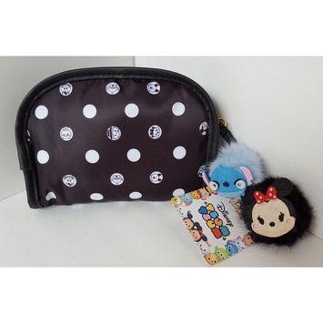 London Soho New York Disney Tsum Tsum Cosmetic Bag - Small Black