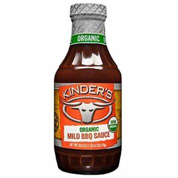 Kinder's Organic Mild BBQ Sauce, 20.5 oz