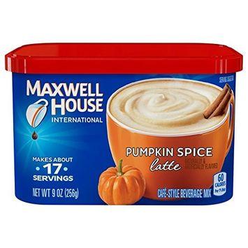 Maxwell House International Latte, Pumpkin Spice, 9.0-Ounce [Pumpkin Spice]