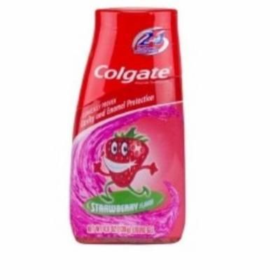 Toothpaste Colgate Kids 2 In 1 Strawberry 4.6 oz. Flip Top Container