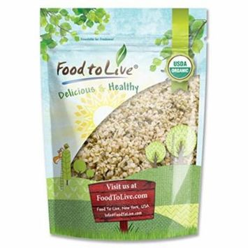 Food to Live® Certified Organic Hemp Seeds