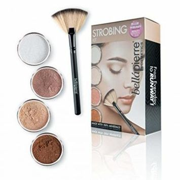 Béllapierre Cosmetics Strobing Kit with Four Illuminator Options Suiting Different Skin Tones