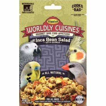 Higgins Worldly Cuisines Inca Bean Salad Bird food, 2 Oz