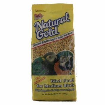 Pretty Bird Natural Gold Bird Food, Medium, 2.6 lb