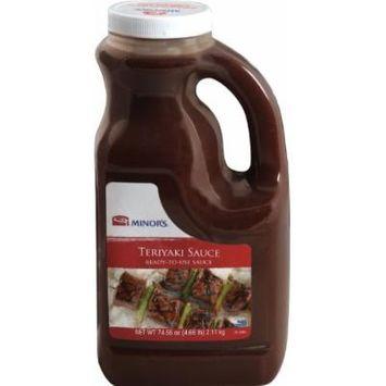 Minor's Teriyaki Sauce, 74.56 Ounce (Pack of 4)