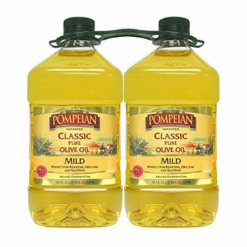 Pompeian Classic Pure Imported Olive Oil, 3 L., 2-Pk