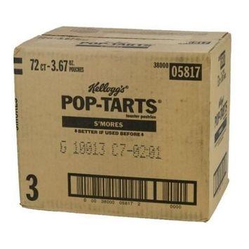 Pop-Tart Smores Single Serve 12 Pack 6 Case 2 Count
