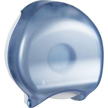 San Jamar, SJMR2000TBL, Classic Single JBT Tissue Dispenser, 1 Each, Arctic Blue