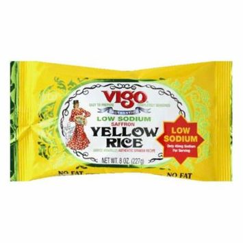 Vigo Low Sodium Yellow Rice, 8 OZ (Pack of 12)