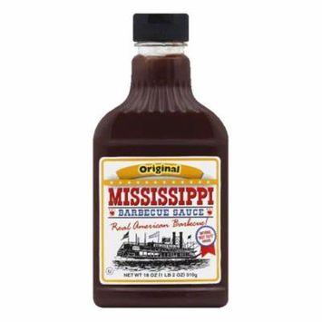 Mississippi BBQ Original BBQ Sauce, 18 OZ (Pack of 6)
