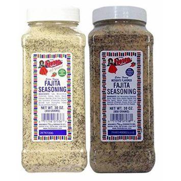 Bolner's Fiesta Fajita Seasonings 2 Flavor Bundle: Mesquite and Traditional Fajita, 30 Oz. Ea.