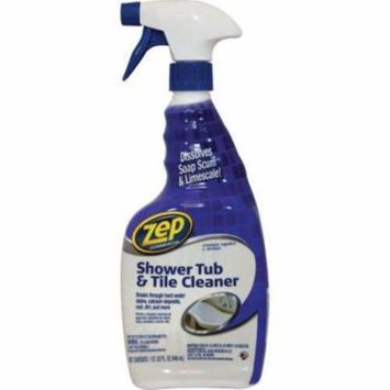 32 Ounce Zep Commercial Shower, Tub And Tile Cleaner Case Of 8