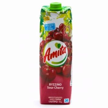 Sour Cherry Juice Drink (amita) 1L