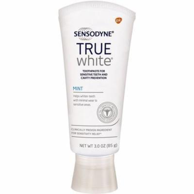 Sensodyne True White Toothpaste, Mint 3 oz (Pack of 3)