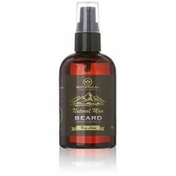 Natural Man Bay Lime Beard Oil - All Natural Beard Conditioner by Botanical Skinworks, 4 Ounce