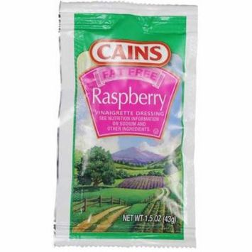 Cains Fat Free Raspberry Vinaigrette Dressing, 1.5 Ounce -- 60 per case.