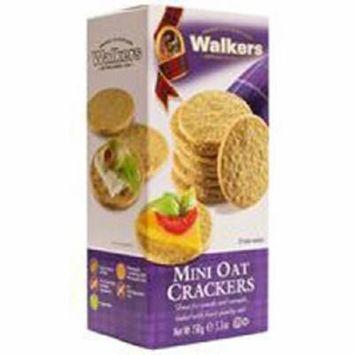 Walkers Mini Oat Crackers 5.3 oz (3 Pack)