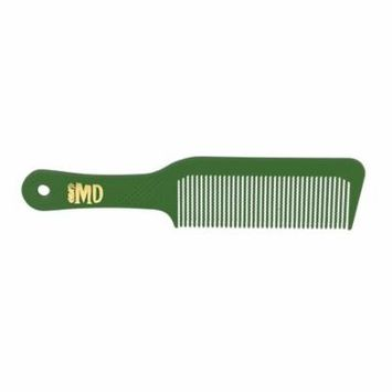 MD Flat Top Comb - Pack of 12 (Green)