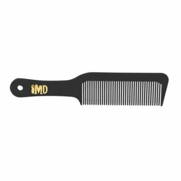 MD Flat Top Comb - Pack of 12 (Black)