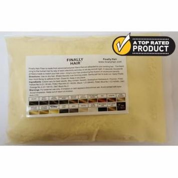 Refill Bag (Light Blonde) - Hair Building Fiber - 25 Gram Thickener - Available in 20 colors and several blond shades - Conceal Hair Loss - Cover Up Grey Roots