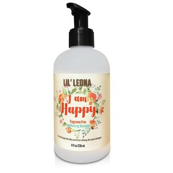 Baby Hair Conditioner & Detangler by Lil Leona: Safe and Non-Toxic Cleansing Conditioner for Infants, Toddlers, and Kids of all Ages [Fragrance Free]