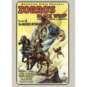 Alliance Entertainment Llc Zorro's Black Whip (dvd)