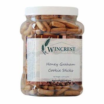 Cinnamon Honey Pretzels Graham Sticks - 1.5 Lb Tub