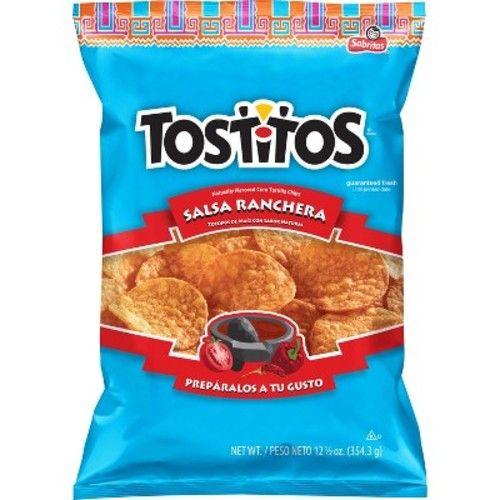 Tostitos Salsa Ranchera Naturally Flavored Corn Tortilla Chips - 12.5oz