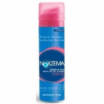 NOXZEMA Shave Gel for Sensitive Skin, Fragrance Free 7 oz