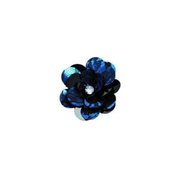 Expo Layered Lace Sequin Flower Pin and Hair Clip