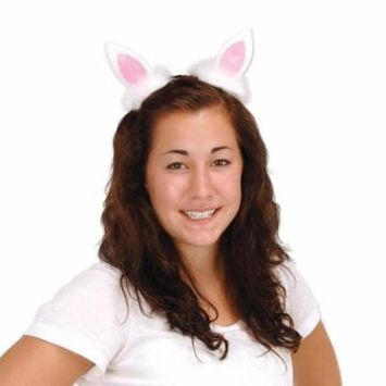 (12 Packs) Bunny Ear Hair Clips Easter Accessories