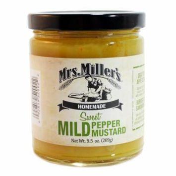 Mrs. Miller's Mild Pepper Mustard 9.5 oz. (2 Jars)