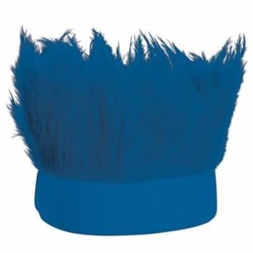(Pack of 12) Hairy Headband, blue