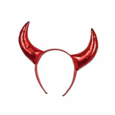 (Pack of 12) Mardi Gras Party Devil Horns