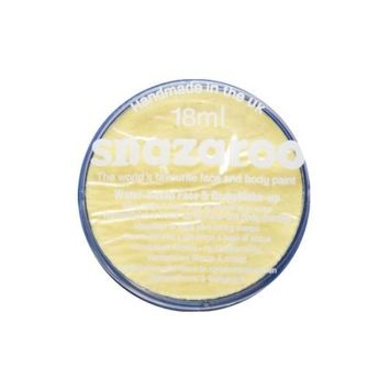 SNAZAROO 18ML Pastel Yellow FACE PAINT PAINTING MAKEUP