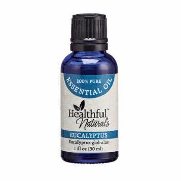 Healthful Naturals Eucalyptus Essential Oil - 30 ml