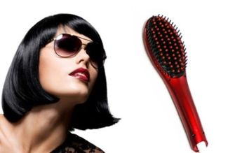 One & Only Extreme LED 450° Straightening De-tangling Hair Brush (Pack of 2)