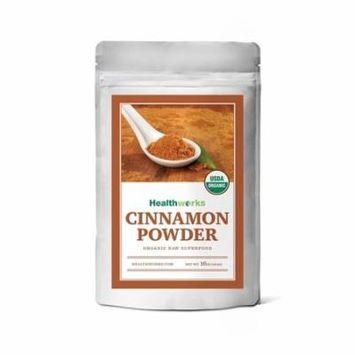Healthworks Cinnamon Powder Ceylon Raw Organic, 1 lb (16 oz)