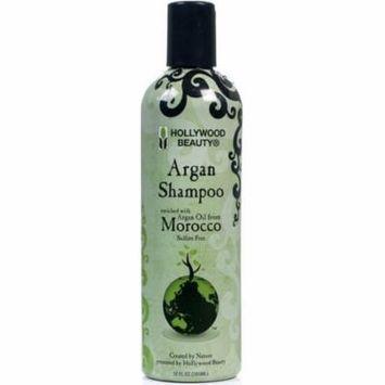 4 Pack - Hollywood Beauty Argan Oil Shampoo, 12 oz