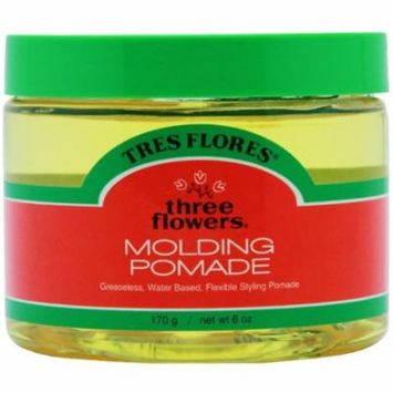 6 Pack - Three Flowers Molding Pomade 6 oz