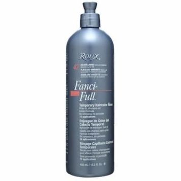 2 Pack - Roux Fanci-Full Temporary Color Rinse 42 Silver Lining, 15.2 oz