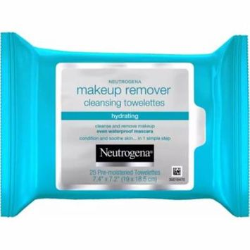 2 Pack - Neutrogena Hydrating Makeup Remover Cleansing Towelettes 25 ea