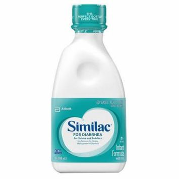 2 Pack - Similac Expert Care for Diarrhea, Ready To Feed Infant Formula 32 oz