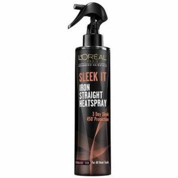 L'Oreal Paris Hair Care Advanced Hairstyle Sleek It Iron Straight Heat Spray, 5.7 Fluid Ounce