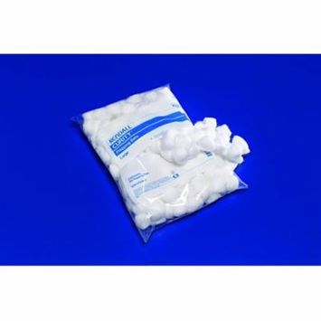 Curity Cotton Ball Large, 100% Cotton, Non-Sterile, Bag of 200, 8 Pack