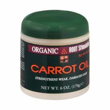 Organic Root Stimulator Carrot Oil For Weak, Damaged Hair, 6 oz